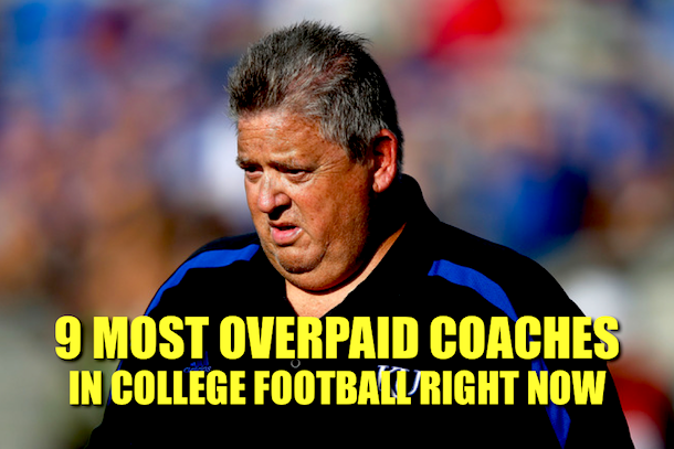 overpaid coach college football 2013