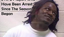 8 NFL Players Who Have Been Arrested Since The Season Began