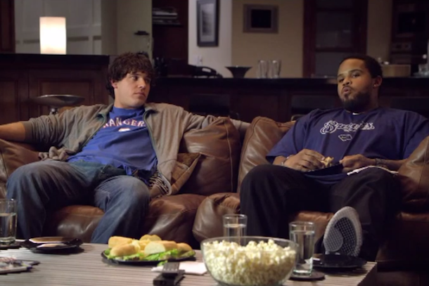 prince fielder and ian kinsler in espn commercial