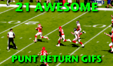 21 Awesome Punt Return GIFs