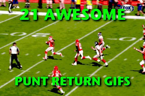 punt return gifs