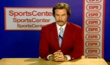 When He's Done with Curling, Ron Burgundy Will Also Be Doing an Episode of ESPN's SportsCenter (Video)
