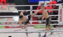 Roundhouse Kick to the Head Results in Vicious First Round Knockout (GIF + Video)
