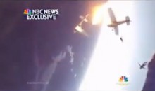 Shocking Video: Everyone Survives After Two Skydiving Planes Collide in the Air