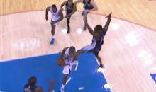 Chris Paul Took a Karate Kick to the Face from Tony Allen Last Night (Video + GIF)