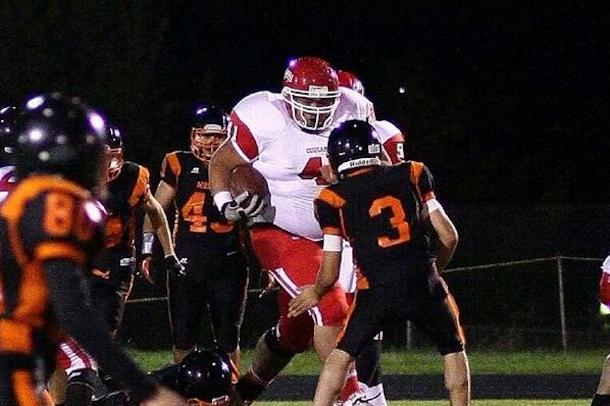 tony picard 400 pound high school running back