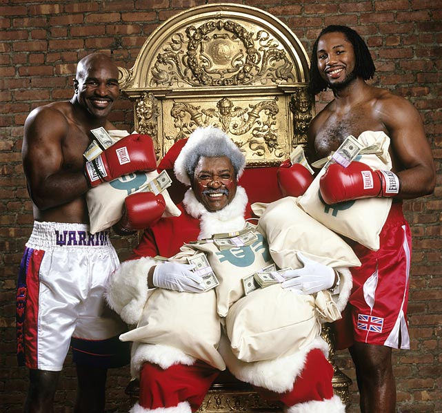 1 don king dressed as santa - athletes dressed as santa
