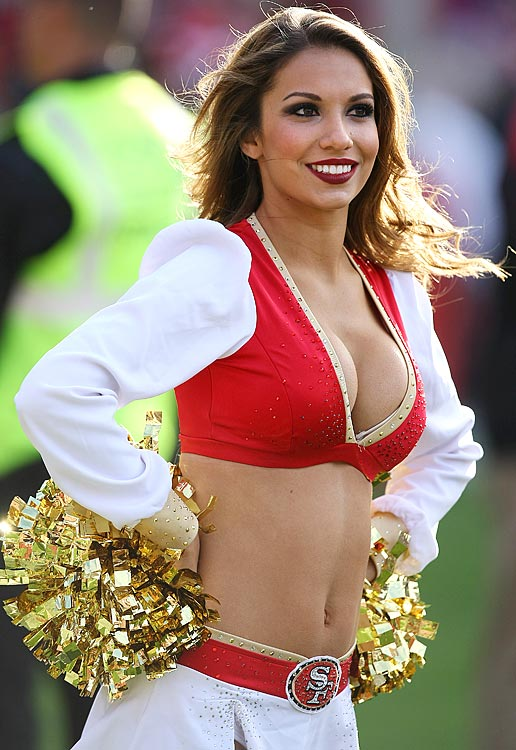14 San Francisco 49ers Gold Rush Melissa- hottest NFL cheerleaders 2013