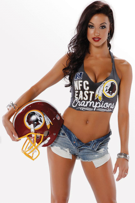 16 Washington Redskins Cheerleaders Maigan - hottest NFL cheerleaders 2013