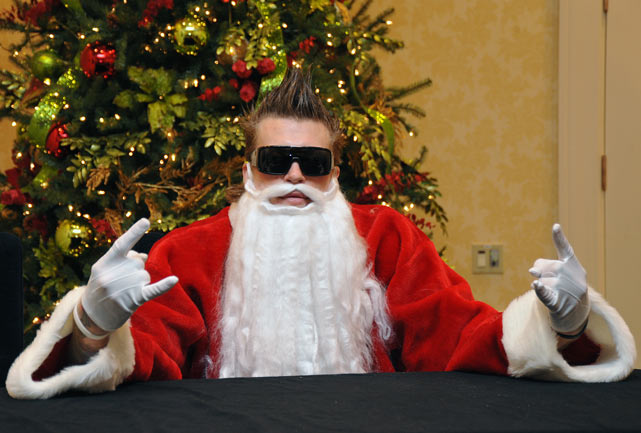 4 chris birdman andersen santa - athletes dressed as santa