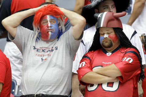5 houston texans fans - worst places to be a sports fan (worst sports cities) 2013