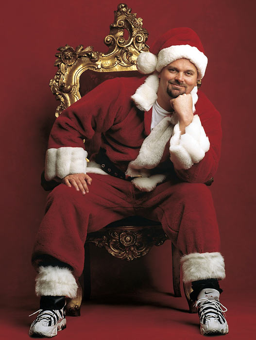 8 david wells santa  - athletes dressed as santa
