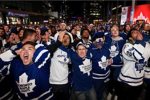 8 sad maple leafs fans - worst places to be a sports fan (worst sports cities) 2013
