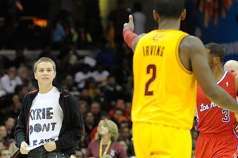 9 don't leave kyrie irving cleveland fan - worst places to be a sports fan (worst sports cities) 2013