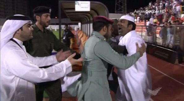 Al-Ajman Official Fights Ref