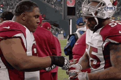 Arizona Cardinals Eating Skittles