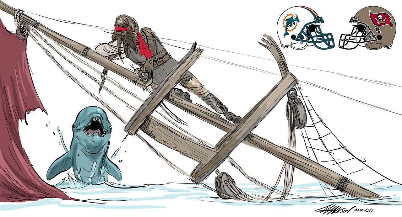 Week 10 – Dolphins vs. Bucs