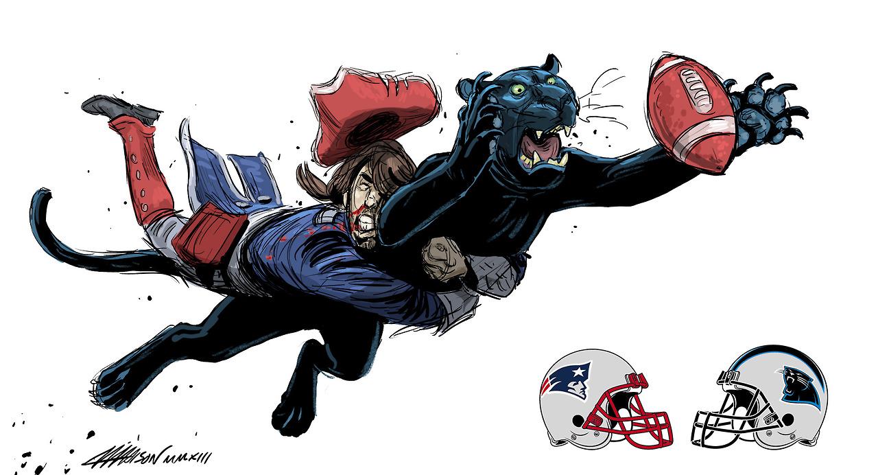 Week 11 – Panthers vs. Patriots