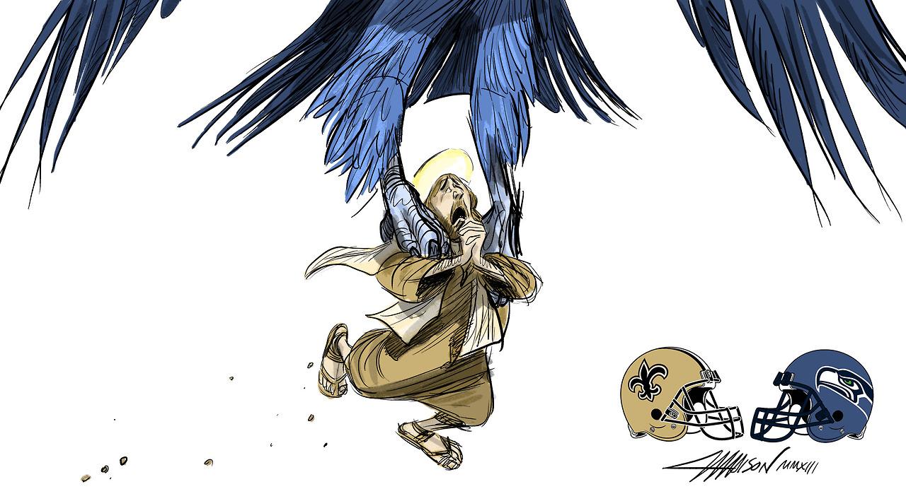 Week 13 – Seahawks vs. Saints