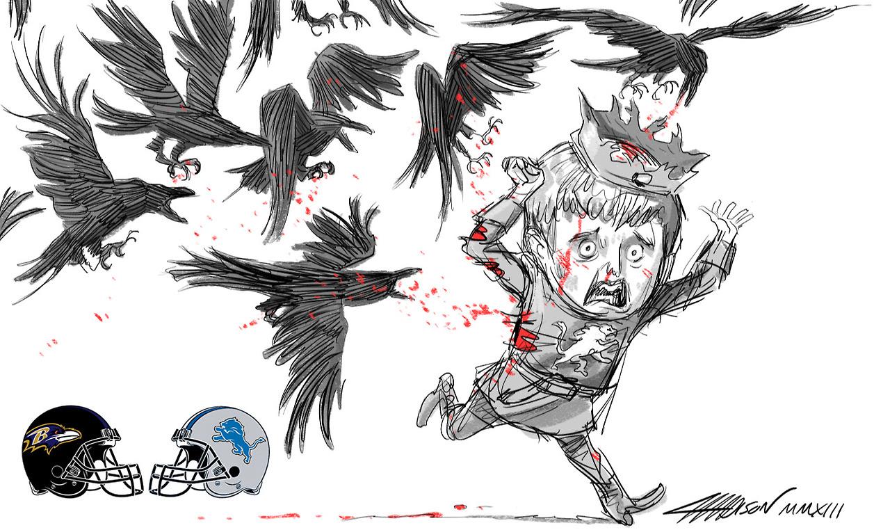 Week 15 – Ravens vs. Lions