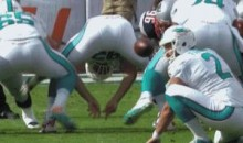 Miami Dolphins Punter Brandon Fields Gets Hit in the Face by Snap (GIFs)