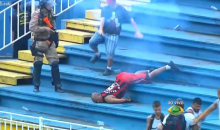 Brazilian Soccer Riot Breaks Out, Police Fire Rubber Bullets (Video)