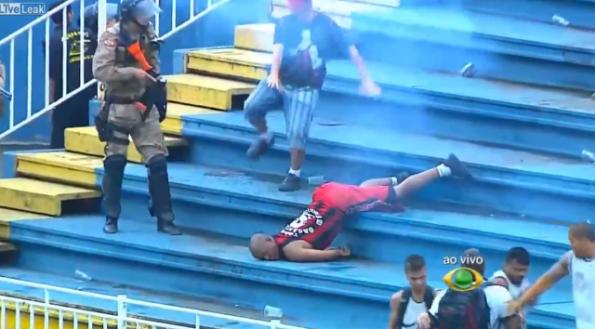 Brazilian Soccer Riot