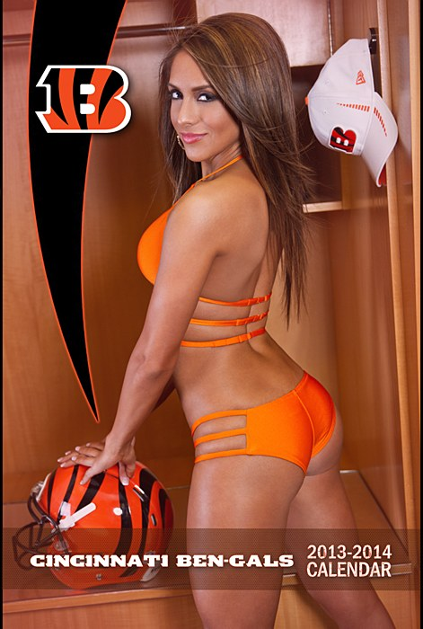 Cincinnati ben-gals cheerleaders calendar - nfl cheerleaders calendars 2014