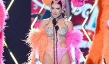 Danica Patrick Dresses Up as Showgirl and Makes Jokes About Her Breasts (Video)