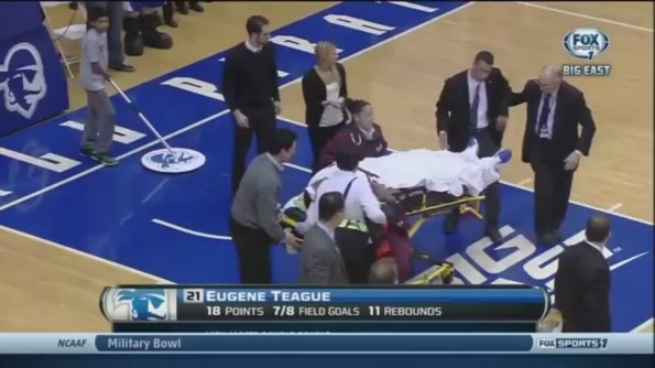 Gene Teague's Concussion