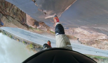 Horrifying Botched Cliff Jump Captured on GoPro Camera (Video)
