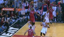 LeBron James Posterizes the Hawks' Paul Millsap (Video)