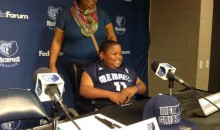 Memphis Grizzlies Draft 8-Year-Old for Make-A-Wish Foundation