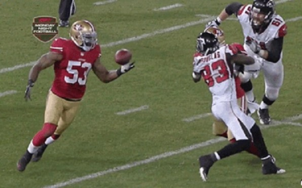 Navarro Bowman pick six