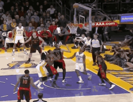 Nick Young Misses 360-Degree Layup