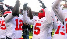 Ohio State Buckeyes Football Team Goes Nuts Watching Auburn Beat Alabama (Video)