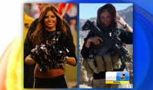 Eagles Cheerleader Rachel Washburn Does Two Tours of Duty in Afghanistan (Video)