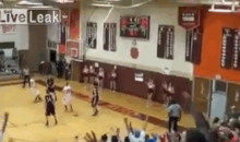 High School Player Marvey'o Otey Scores Behind-The-Back 3-Pointer (Video and GIF)