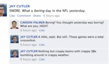 NFL Quarterbacks Conversation on Facebook: Week 13 Round-Up