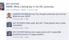 NFL Quarterbacks Conversation on Facebook: Week 13 Round-Up