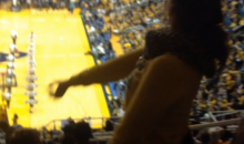WVU Girl Twerks in Stands, Fans Throw Cash (Video)