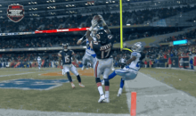 Bears Receiver Alshon Jeffery Comes Up with Insane Touchdown Catch Against the Cowboys (GIFs)