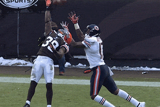 alshon jeffery touchdown catch vs browns