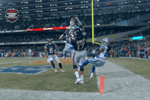 alshon jeffery touchdown