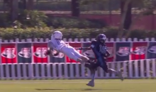 This Diving Catch from the Pop Warner Super Bowl Playoffs Will Blow Your Mind (Video)