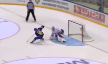 This Shootout Goal from the Swedish Hockey League Is Just Ridiculous (Video)