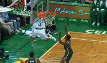 Celtics' Avery Bradley Sinks Ridiculous Circus Shot from Behind the Backboard to Beat the Shot Clock (Video + GIF)
