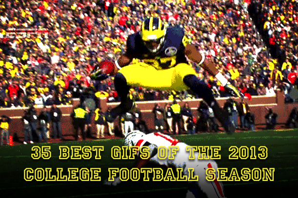 best college football gifs 2013