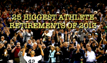25 Biggest Athlete Retirements of 2013
