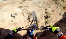 Pro Mountain Biker Jumps Across Canyon, Captures It Via GoPro (Video)